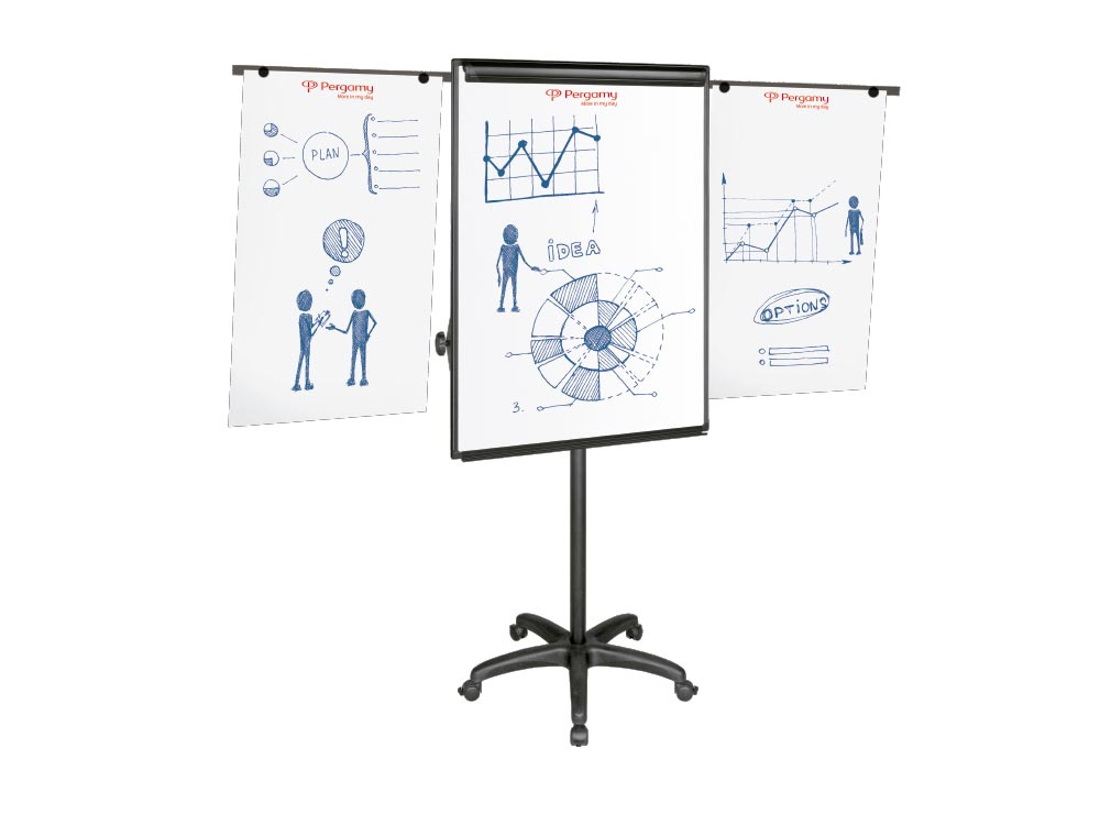MOBILE-FLIPCHART-EASEL-PERGAMY-EXCELLENCE